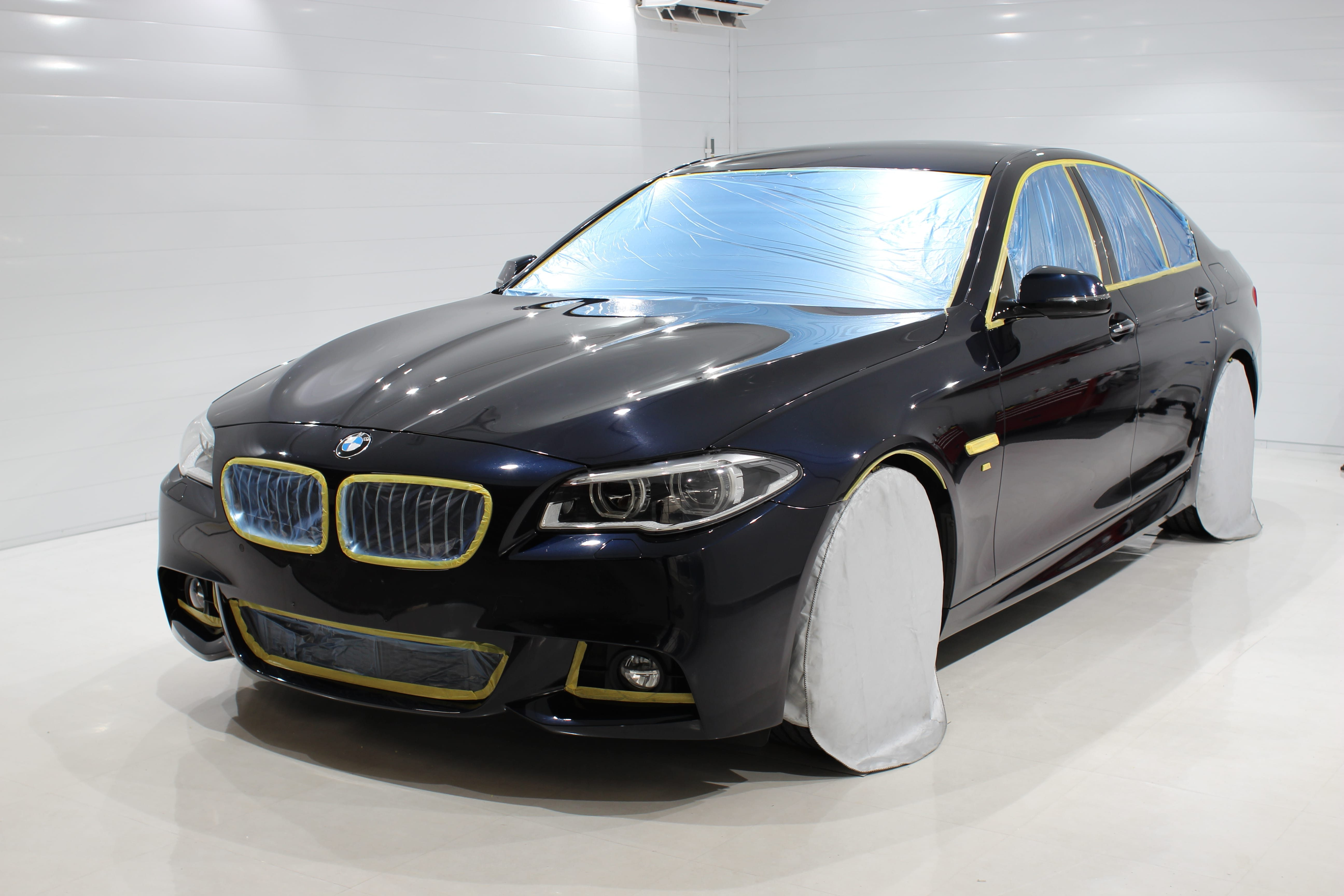 BMW5シリーズ クレイトスセラミックボディーコーティング ルームクリーニング