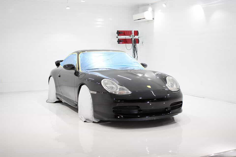 ポルシェ 996 ボディーコーティング